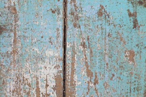 Texture, Wood, Old, Blue, Macro, Copy Space, Decor