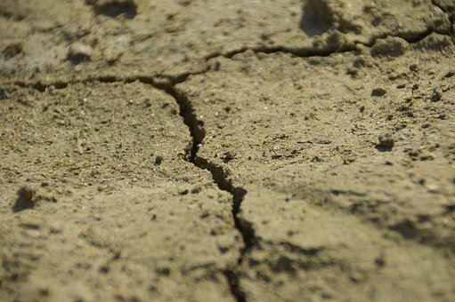 Dry, Ground, Sand, Dehydrated, Cracked, Drought