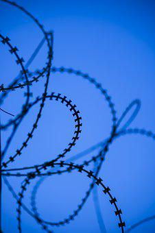 Wire, Engel, Backgrounds, Color Image, No People