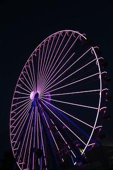 Ferris Wheel, Year Market, Fair, Folk Festival, Ride