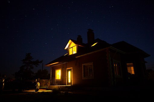 House Under The Stars, Starry Sky
