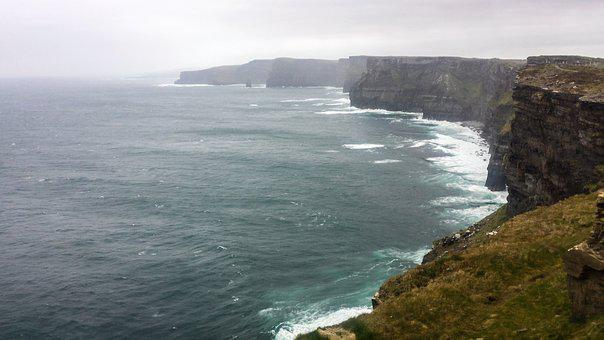 The Cliffs Of Moher, Ireland, Europe, Tourism