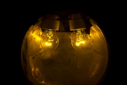 Light, Yellow, Lamp, Macro, Abstract, Lights, Wallpaper