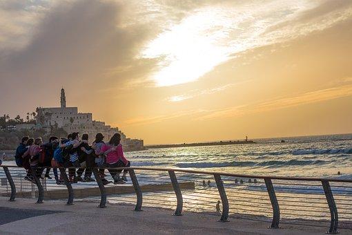 Tlv, Tel Aviv, Tel, Aviv, Israel, Middle, East, Country