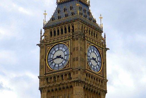 Big Ben, London, England, Ben, Big, Clock, Parliament