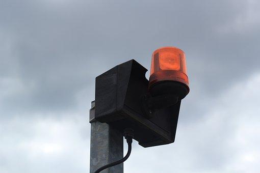 Alarm, Alarm System, Lamp, Emergency, Security, Red