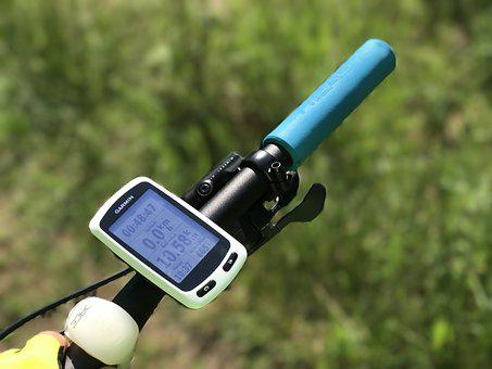 Round, Garmin, Navigation, Cycling, Head, Nature