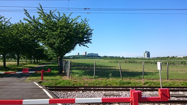 Nature, Railway, City, Leisure, Hiking, Tree, Green