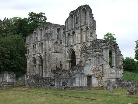 Abbey, Castle, Monument, Landmark, Architecture