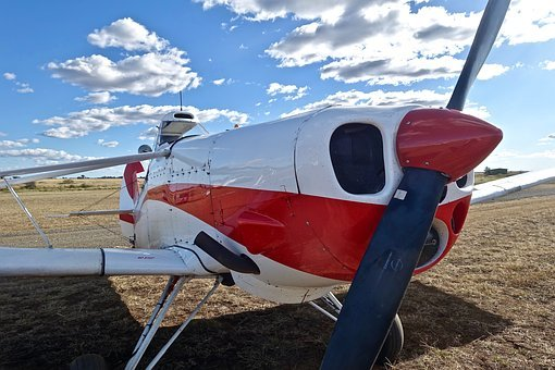Aeroplane, Propeller, Cowling, Plane, Aircraft
