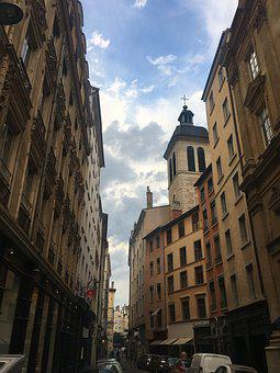 Lyon, France, F, Architecture, Europe, French, City