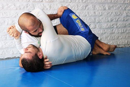 Fighters, Jiu-jitsu, Fight, Combat, Athlete, Martial