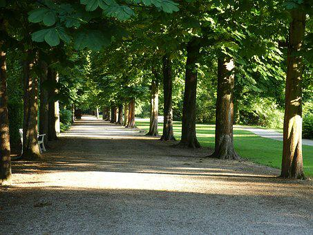 Castle Garden, Schwetzingen, Schlossgarten, Castle Park