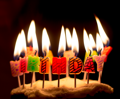 Birthday, Candles, Celebration, Cake, Party, Dessert