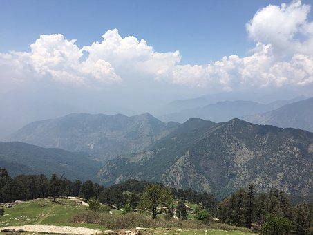 Nature, Mountains, Summer, India, The Himalayas
