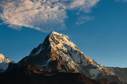 Annapurna, Himalayas, Mountain, Landscape, Nepal