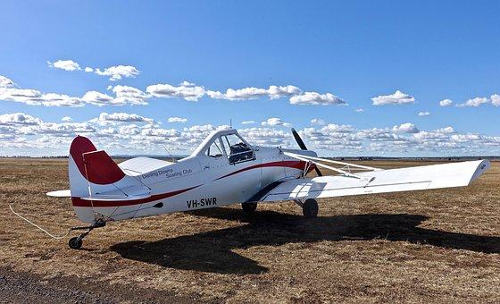 Aeroplane, Aircraft, Propeller, Airplane, Aviation
