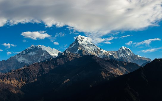 Mountain, Himalayas, Travel, Landscape, Peak, Asia