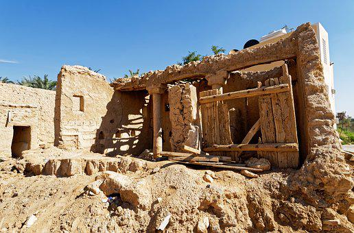 Old, Riyad, Saudi Arabia, Historically, Ruins, Old Town