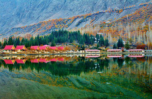 Lower Kachura Lake, Shangrila Lake, Skardu, Pakistan