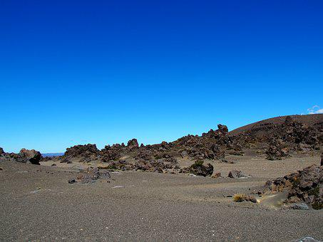 Tongariro National Park, Volcanic, Landscape