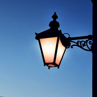 Lamp, Lampost, Light, Street, Old, Vintage, Lantern