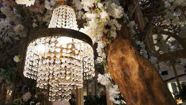 Crystal Chandelier, Chandelier, Crystal, Decoration