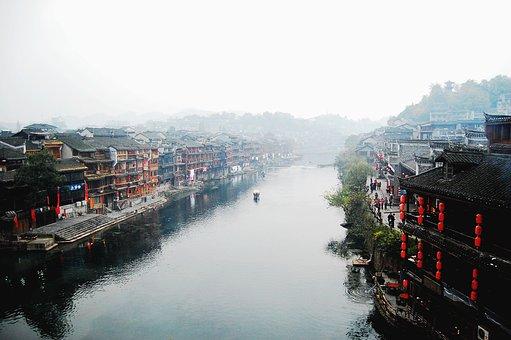 China, Hunan, In Western Hunan, Phoenix, Tuojiang