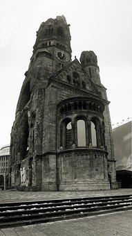 Berlin, Gedächtniskirche, Destruction, Church, Germany
