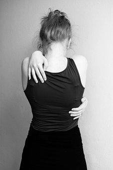 Hug, Desperate, Sad, Depressed, Embrace, Hands