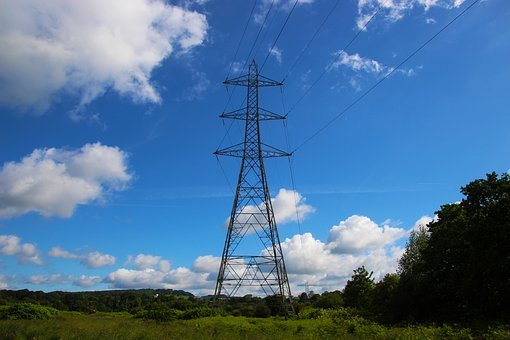 Pylon, Electricity Pylon, Electricity, Power, Energy