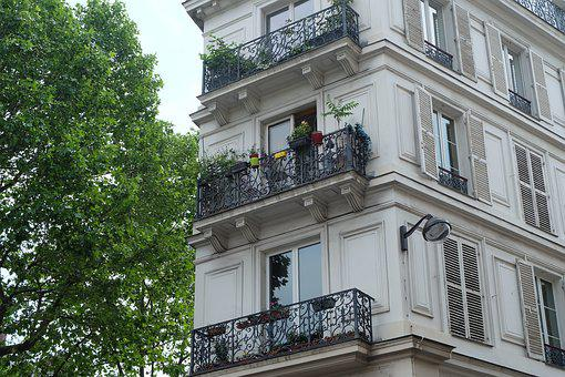 Apartment, French Architecture, Building, French