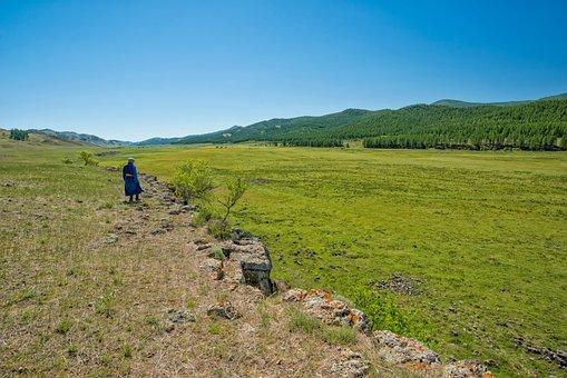 Landscape, Bogart Village, Mongolia