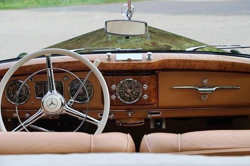Auto, Oldtimer, Mercedes, Benz, Daimler, Star