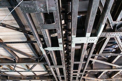 Bridge, Underground, Pipes, Transport, Road