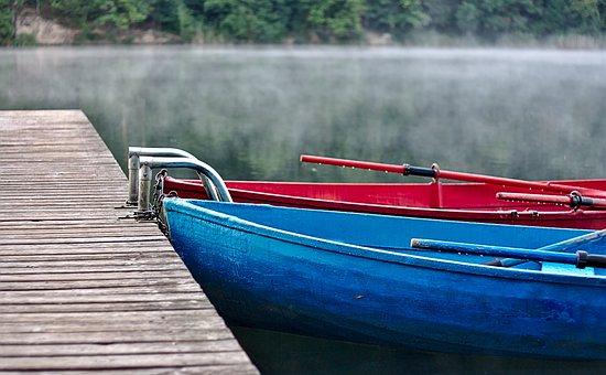 Water, Blue, Red, Boat, Liquid, Sea, Transparent
