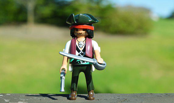 Pirate, Toy, Sword, Action Figure, Weapon, Adventure