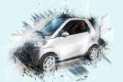 Smart, Auto, Car, Automotive, Image Editing