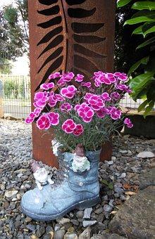 Garden, Garden Deco, Mood, Flowers, Home Garden