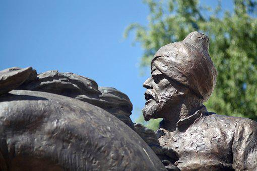 Statue, Turkish, History, Memorial, Hard, Horse, Rider