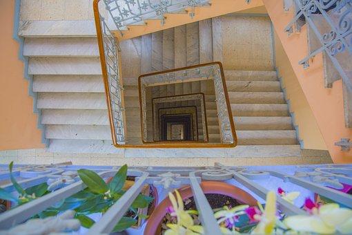 Stair, Stairway, Home, Building, Inside, Upstairs