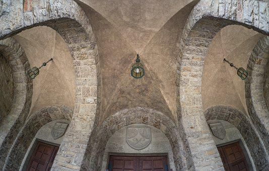 Blanket, Church Ceiling, Baroque, Old, Structure