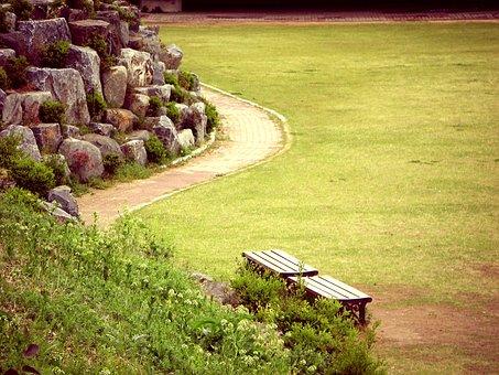 Park, Chair, Bench, Nature, Outdoor, Garden, Landscape
