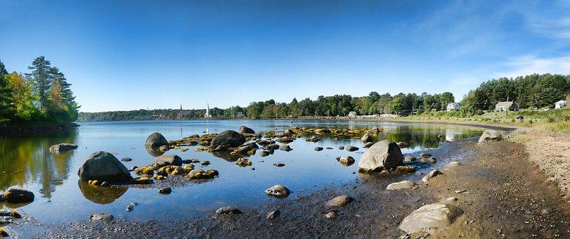 Mahone Bay, Nova Scotia, Canada, Sea, Tourism, Travel