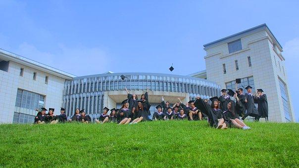 Graduation, Group Photo, Summer