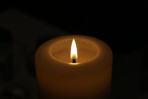 The Flame, Candle, The Darkness, Evening, Light, Fire