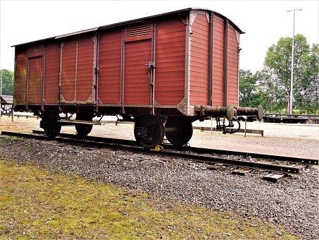 Bergen-belsen, Wagon, Train, Holocaust, Freight Train