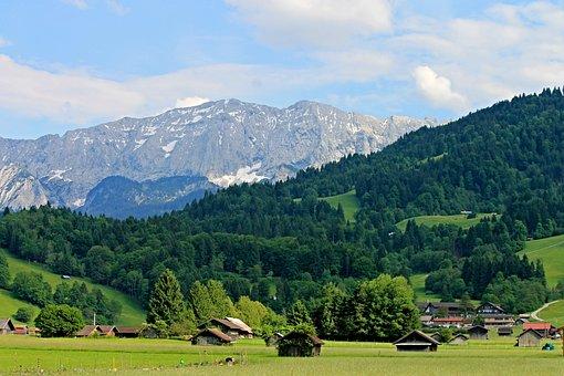 Alpine, Upper Bavaria, Mountains, Bavarian Alps