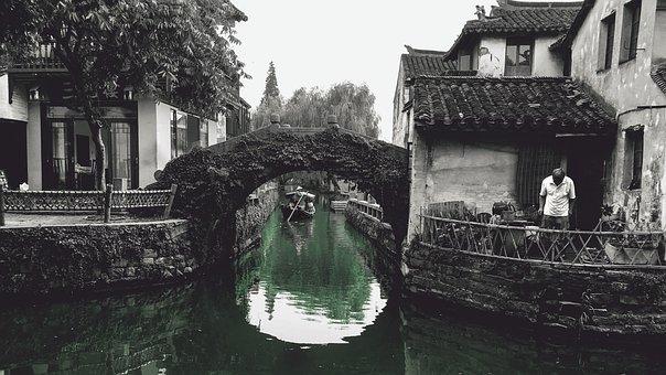 Water, Gondola, Canal, Travel, River, River Village