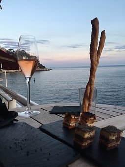 Champagne, Sea, Cup, Drink, Sparkling, Glass, Aperitif